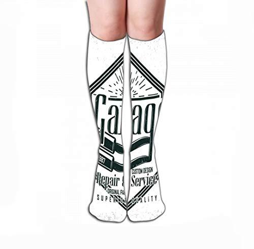 Xunulyn Men Women Outdoor Sports High Socks