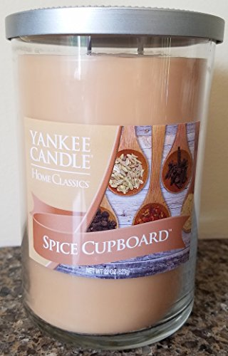 Yankee Candle Home Classics SPICE CUPBOARD 22 oz Large 2-Wick Tumbler Candle - Retired Scent