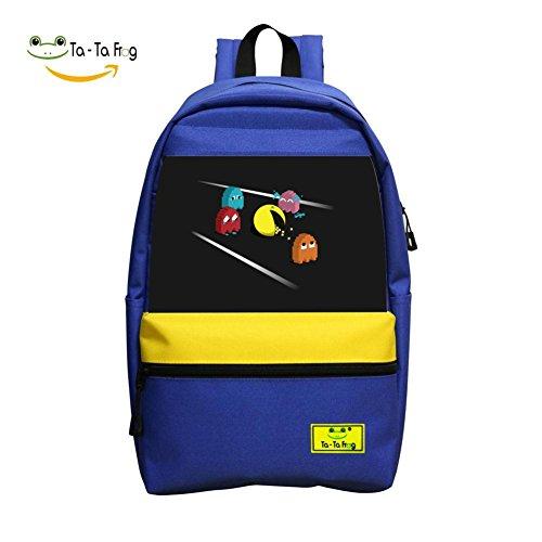 Death of Skull School Bag Student Backpack for Children Blue