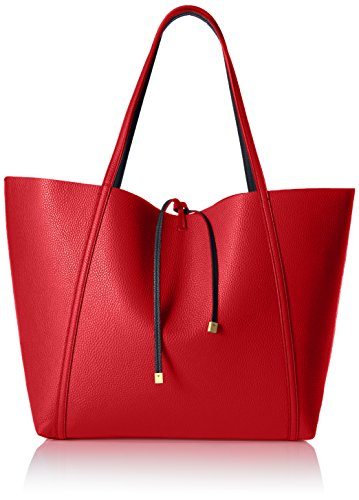 A|X Armani Exchange Large Tote, Red/Navy, One - Bags Womens Armani Exchange For
