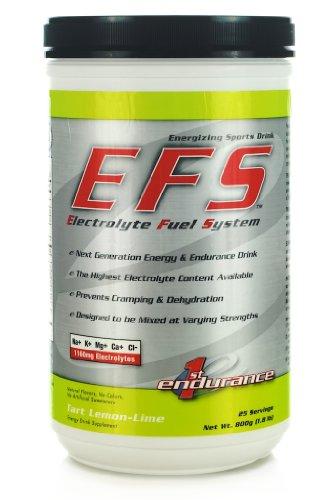 First Endurance EFS Drink W/ Free Skratch Labs Trial Pack (Lemon Lime) (Drink Endurance Ultragen)