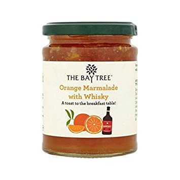 The Bay Tree Orange Marmalade with Whisky 340g - Pack of 6