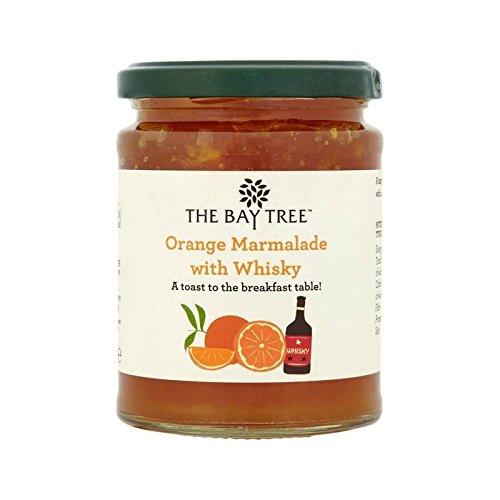 The Bay Tree Orange Marmalade with Whisky 340g - Pack of 2