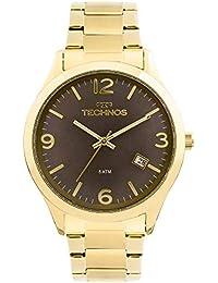Moda - Dourado - Relógios   Feminino na Amazon.com.br 2800bb77f2