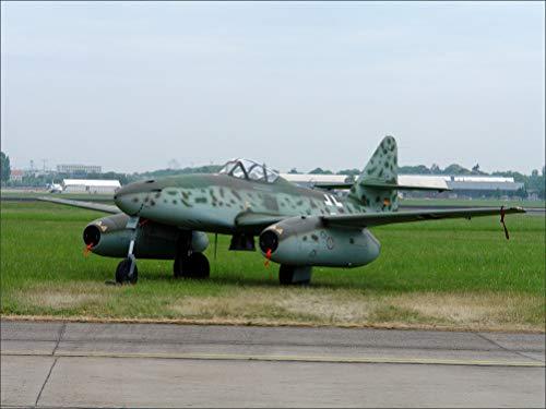 - Innerwallz Fighter Airplane Messerschmitt 262 Aviation Wall Art, Pop Art, Poster, Art Prints | Rare Posters