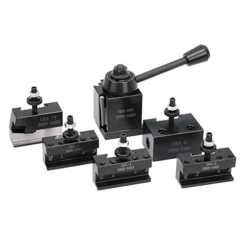 0XA Quick Change Tool Post Set, Horizontal Cut-Off ()