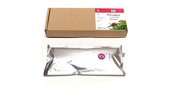InkTec Bolsa 1 litro de Tinta Eco-solvente Magenta para Mimaki ...