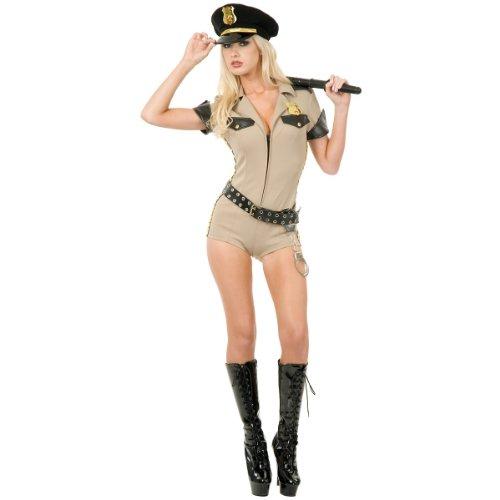 Charades Women's Reno Sheriff, Khaki X-Large ()