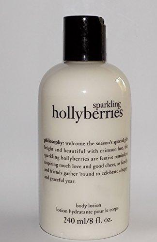 Philosophy Sparkling Hollyberries Body Lotion 8 FL OZ