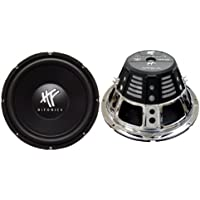 HIFONICS HFX12D4 12  Car Audio Subwoofers 1600W- Combined Effect of 2 Speakers