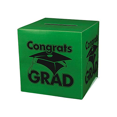 Congrats Grad Green Card Box -
