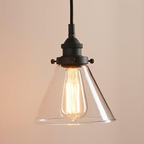 Glass Funnel Pendant Light in Florida - 6