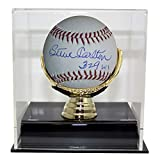 Steve Carlton Autographed Signed Official Major League Baseball 329 Wins & JSA With Deluxe Baseball Display Case