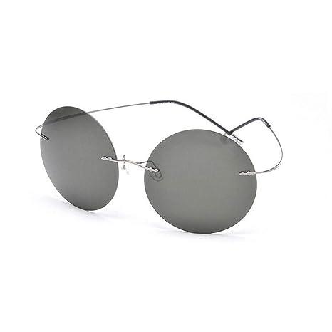 Xuanbao Gafas de Sol Unisex Estilo Vintage Retro Lennon ...