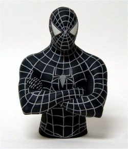 Spider-Man 3 Movie: Black Costume Bust Bank