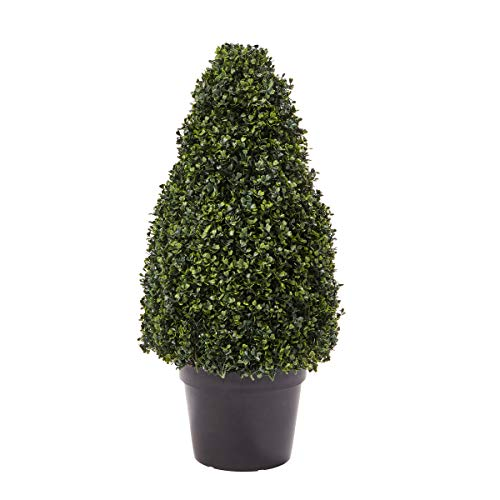 Pure Garden Artificial Boxwood Topiary-36