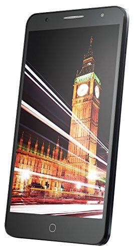 Alcatel Pop 4+ Smartphone (14 cm (5,5 Zoll), Android, 8 Megapixel Hauptkamer, 16 GB Speicher, 32 GB SD-Karten-Slot, Dual-SIM) schiefer