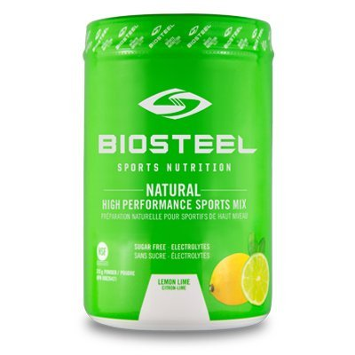 Biosteel High Performance Sports Mix - Enhanced With Electrolytes - Contains Amino Acids And Vitamin B Blend (315 Grams) - Lemon Lime (Performance Drink Beverage Mix)