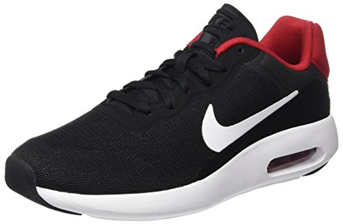 Basse Multicolore da NIKE Ginnastica White Black Red 844874 White Scarpe Uomo Gym UfIR6