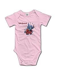 Kids Lilo And Stitch Baby Bodysuit Jumpsuit Unisex Boys Girls 100% Cotton