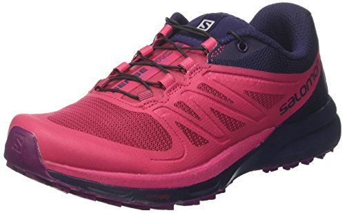 Salomon Sense Pro 2 Trail Running Shoe - Women's Sangria/Evening Blue/Grape Juice 6 ()