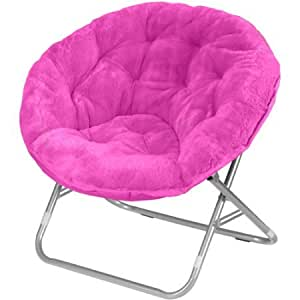 Amazon Com Moon Saucer Chairs For Kids Teens Adults Faux
