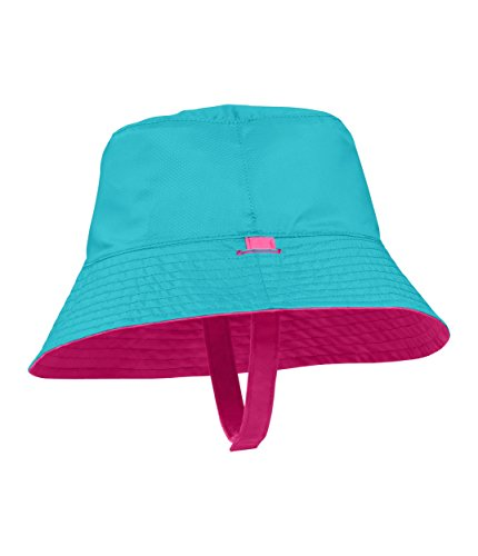 The North Face Baby Sun Bucket Hat - Petticoat Pink & Blue Curacao - One Size