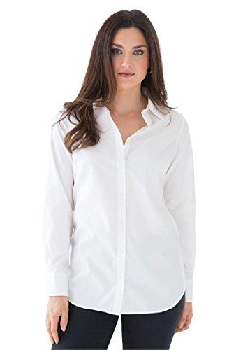 Jessica-London-Womens-Plus-Size-The-No-Iron-Shirt
