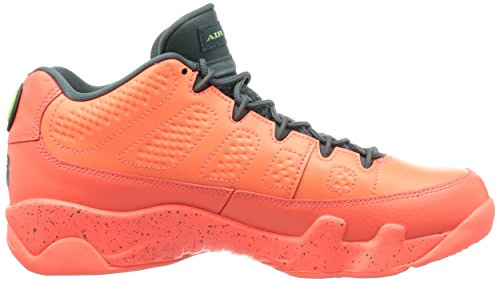 Nike Air Jordan 9 Retro Low, Scarpe da Basket Uomo Arancione (Naranja (Bright Mango / Hasta-ghost Green))