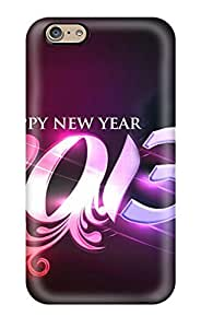 Iphone 6 ClmPpiY2447XqYnE Happy New Year Design Tpu Silicone Gel Case Cover. Fits Iphone 6