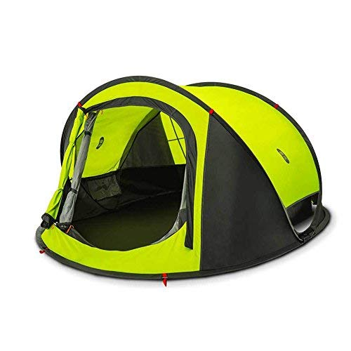 Zenph Automatic 2-3 Persons Family Camping Tent, 3 Seconds Automatic Opening Waterproof Sun Shelter, Automatic Instant Pop Up Tents for Outdoor Hiking 4 Season Tent ()