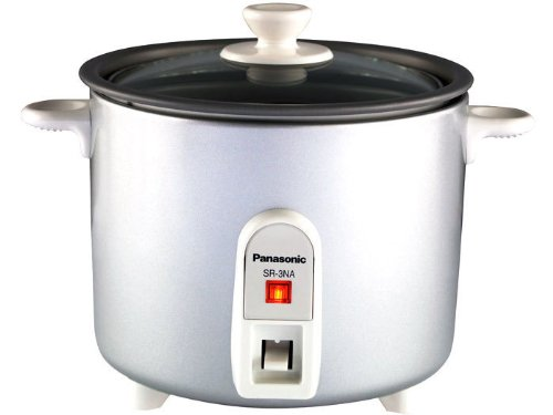 Panasonic SR-3NA Automatic 1.5 Cup (Uncooked)/3 Cups (Cooked) Rice Cooker by Panasonic