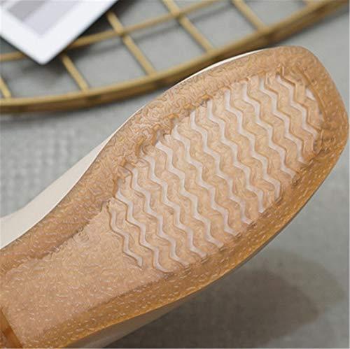 La Antideslizantes Zapatos otoño el de C y señoras de de Trabajo Las Base la FLYRCX la Baja Planos Forman Zapatos Zapatos cómodos Maternidad Suaves Boca de Primavera los dqRvIA