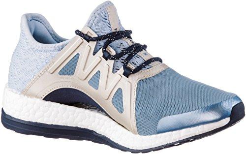 adidas Damen Pureboost Xpose Clima Laufschuhe, Blau (Blu Azutac/Azusen/Lino), 40 EU
