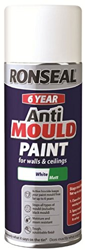 Ronseal 6 Year Quick Dry Anti Mould White 400ml Aerosol