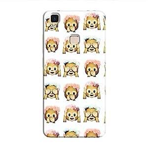 Cover It Up - Flower Monkey Stickers V3 MaxHard Case