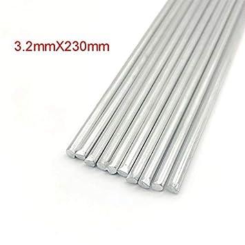 10//20PCS 3.2mm Low Temperature Aluminum Welding Solder Wire Brazing Repair Rods