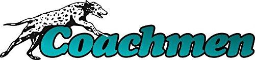Coach Rv Motorhome (1 Rv Trailer Coachmen Logo Decal Graphic- 947)