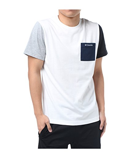 大人登場カウンターパートコロンビア Tシャツ 半袖 Flinsch Isle Short Sleeve Tee フリンチ アイル ショート スリーブ PM1434 125 WH/125 L