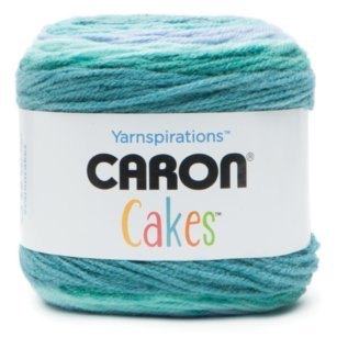 Caron Cakes Self Striping Yarn 383 yd/350 m 7.1 oz/200 g (Blueberry Shortcake) ()