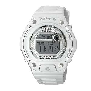 Casio Women's BLX100-7 Baby-G Multi-Function Digital White Resin Sport Watch
