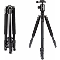 Camera tripod, HolaFoto 62 DSLR tripod Aluminum Alloy With 360° Panorama Ball head &1/4 Quick Release Plate for Canon Sony, Nikon, Panasonic, Olympus, Kodak, Fuji, Samsung -T1 black
