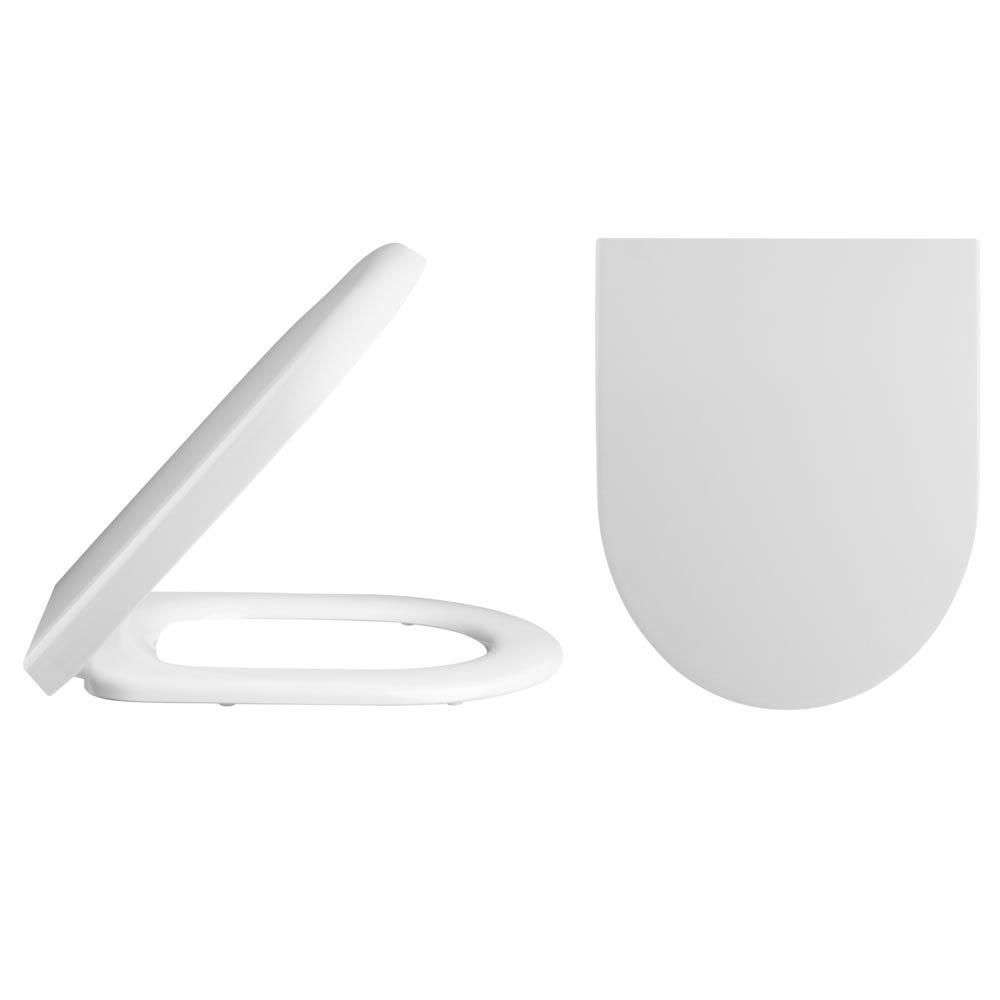 Standard Soft Close Toilet Seat, Bottom Fix by Trueshopping
