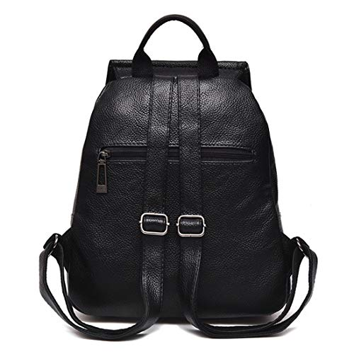 color Pelle Black Zaino Impermeabile In Anti Black Da Haxibkena Borsa furto Viaggio Morbida Donna 7PzA1wz