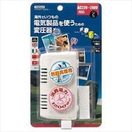【まとめ 3セット】 YAZAWA 海外旅行用変圧器240V1200W HTD240V1200W B07KNSW1NS