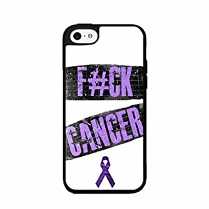 Fuck Cancer TPU RUBBER SILICONE Phone Case Back Cover iPhone 5c
