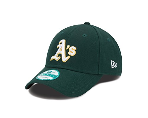 New Era MLB Oakland Athletics Road The League 9FORTY Adjustable Cap, One Size, - Athletic Cap Lightweight