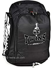 Twins Special Black Rucksack Gym Bag