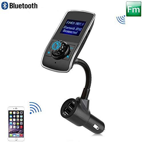 Car Charger Fm-zender Auto Mp3-speler handsfree Bluetooth Carkit Audio Modulator Auto Accessoires