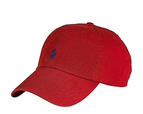 635631c1 Galleon - Polo Ralph Lauren Men/Women Cap Horse Logo/Adjustable, Red/Navy
